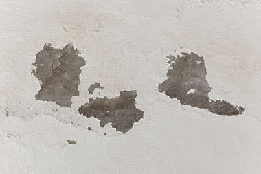 plaster damaged paint worn spain