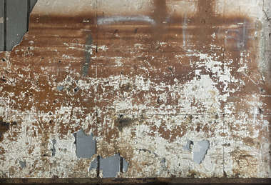 plaster painted weathered old damaged