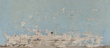 plaster weathered paint worn