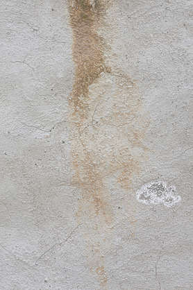 plaster dirty leaking stain