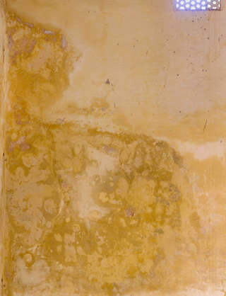 morocco plaster colored dirty stain leaking old corner