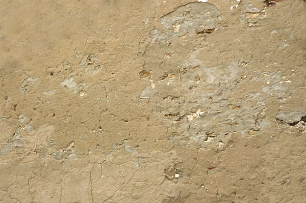 plaster bare wall old loam clay