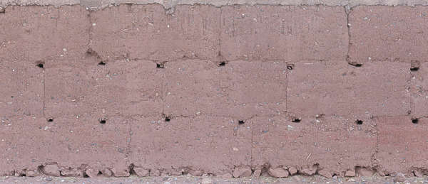 morocco loam wall mud plaster old medieval blocks clay