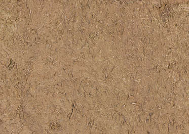 morocco loam wall mud plaster old medieval clay straw