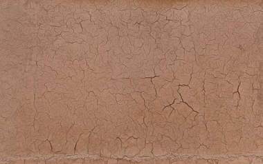 morocco loam wall mud plaster old medieval crackles ground clay