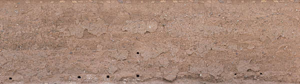 morocco loam wall mud plaster old medieval clay worn eroded