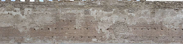 morocco plaster wall castle fortress medieval loam