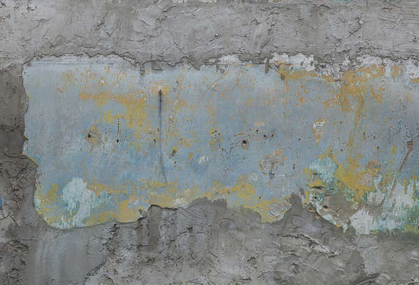 plaster painted paint worn colored work old bare painted