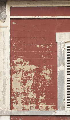 plaster painted weathered worn