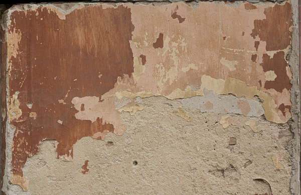 plaster painted damaged