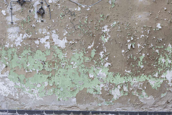 plaster wall painted worn weathered germany