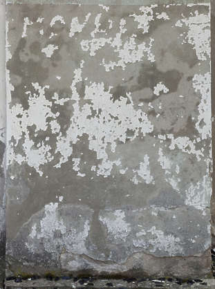 plaster painted worn