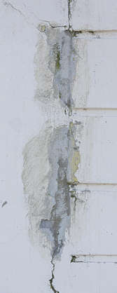 UK plaster damaged patched