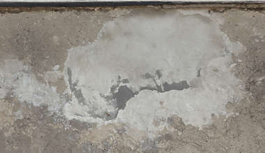plaster patched