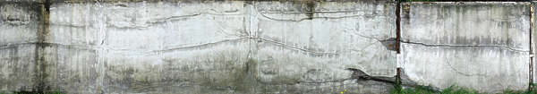 plaster wall dirty white cracked cracks