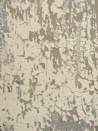 plaster white old cracked weathered