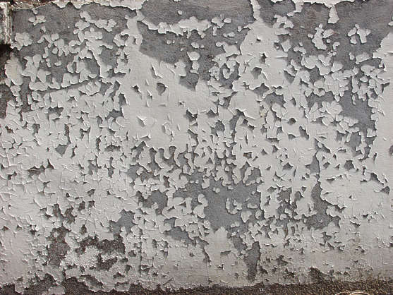 concrete paint cracked