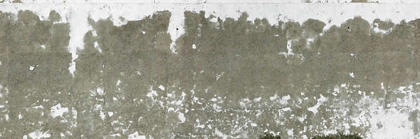 plaster white worn
