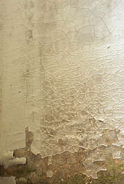 plaster cracks cracked old