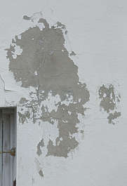 plaster paint painted worn