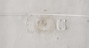 plaster paint painted