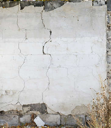 plaster painted cracks cracked