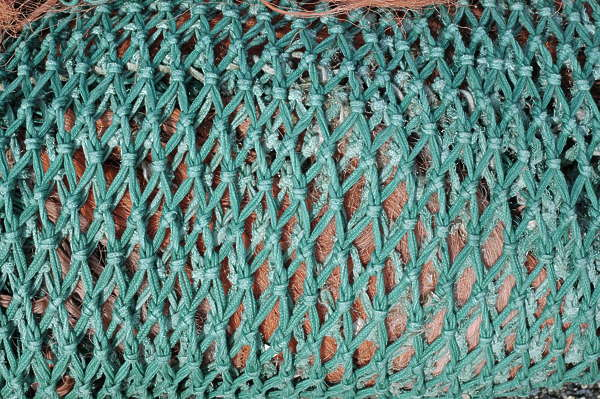 plastic netting fish net