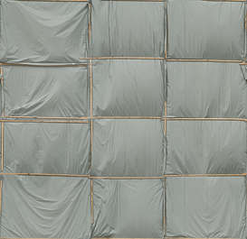 plastic facade building cover covered