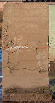 concrete barrier block