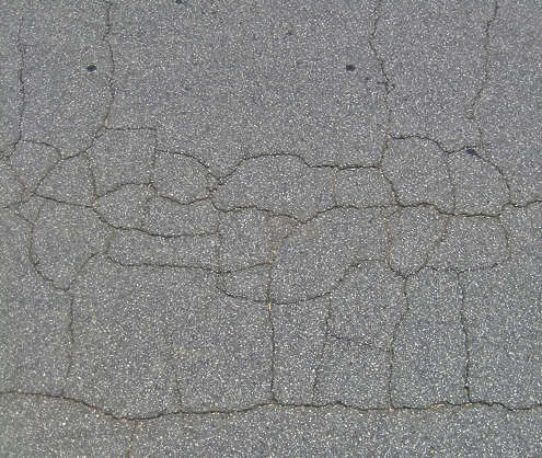 concrete asphalt tarmac crack cracks damaged