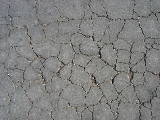 asphalt tarmac street cracks cracked damaged