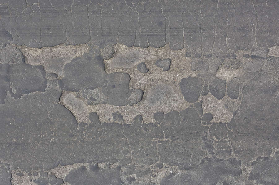 Asphaltdamaged0058 Free Background Texture Aerial