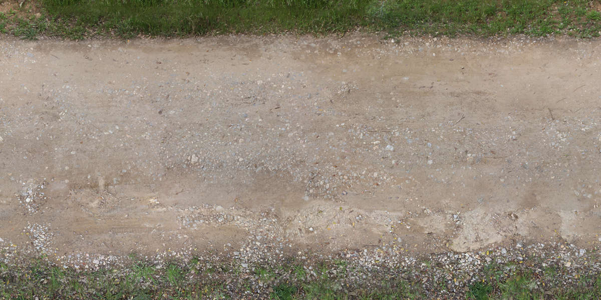 RoadsDirt0080 - Free Background Texture - road dirt green ...