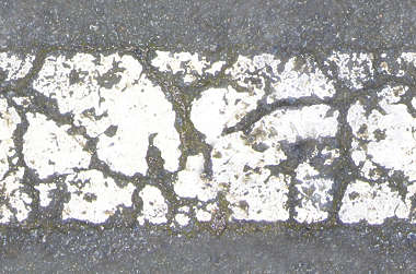 asphalt strip