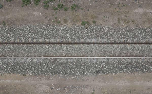 Rails0024 Free Background Texture Aerial Ground