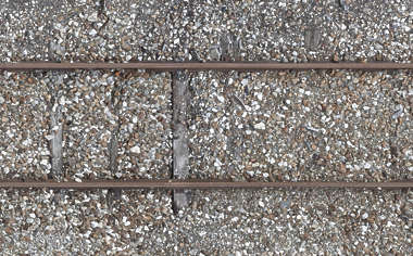 railroad rails rail