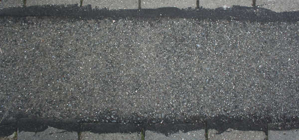 asphalt road edge