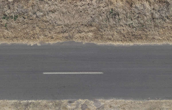 aerial ground terrain road highway asphalt tarmac