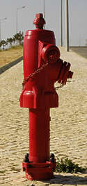 fire hydrant pole street