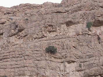 morocco cliffs cliff rock layers geological sediment