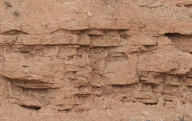 cliff earth spain sediment