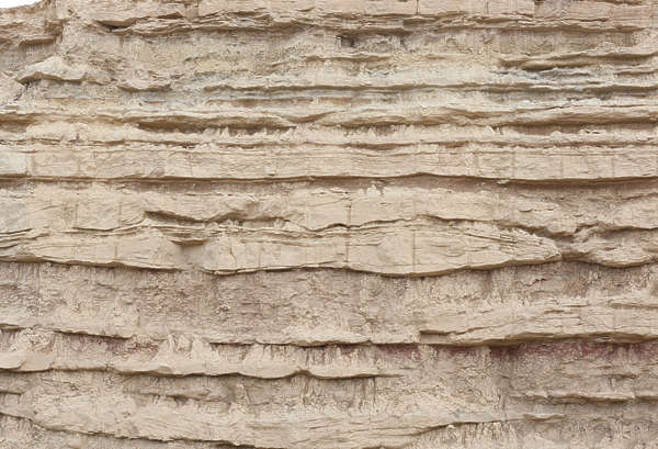 cliff rock spain sediment