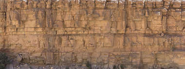 morocco cliffs cliff rock blocky sharp