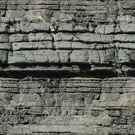 rock layers geological sediment cliff