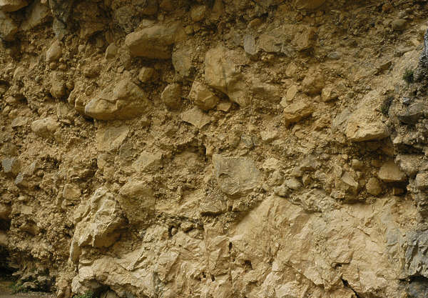 rock rough cliff sandstone