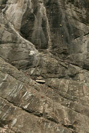 india rock stone cliff