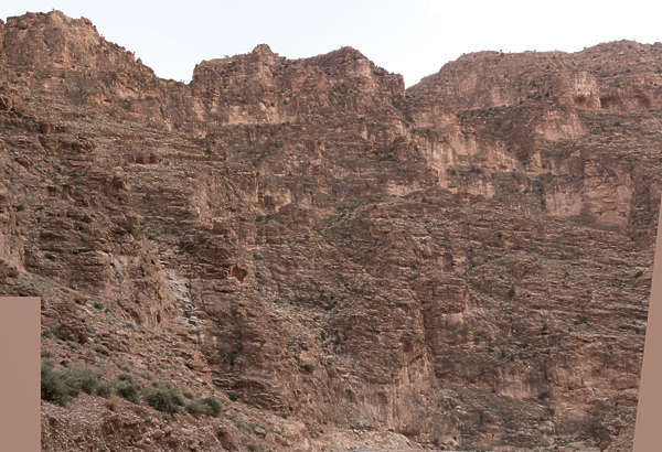 morocco cliffs cliff rock formation