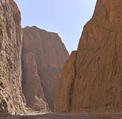 rock africa morocco formations valley formation gorge