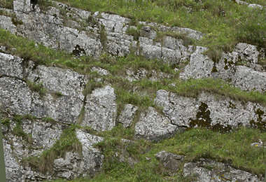 rock rocks UK grassy