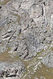 rock cliff jagged mountain